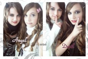 angel and devil ID by LoveMinyu