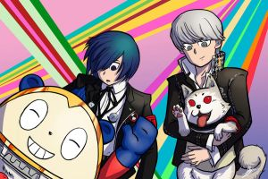 Persona Q Main Characters and Mascots by portivee
