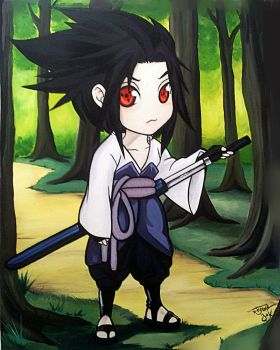 Sasuke02 by carvalhooak