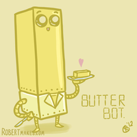 Butter Bot by RobertMakes