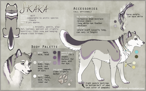 Skara Reference Sheet by Skaralett