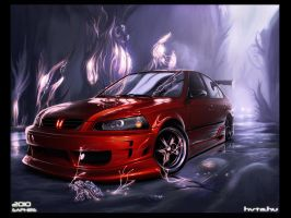 Honda Civic :Art: by SaphireDesign