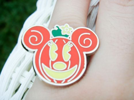 Minnie Mouse Pumpkin Ring by kjtgp1