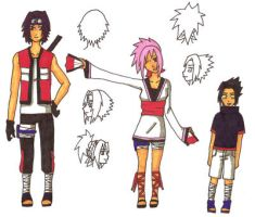 SasuSaku's Children by nami-uchiha