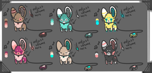 Portable Speaker Mice Adopts .CLOSED. by Enki-Ri