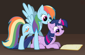 Reading Rainbow by brutaldeeds