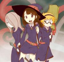 Little witch academia FanArt by mokuepo