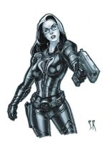 baroness sketch by StephaneRoux