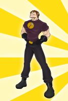 Captain Hammer by Georgel-McAwesome