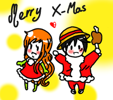 Merry X-Mas everybody by Kimesama