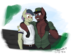 Sarge and Private by AlexLive97