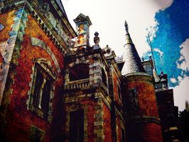 old Gothic castle by k612