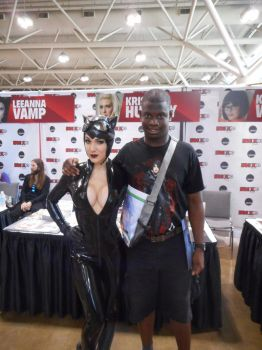 Me And Kristen Hughey At Fan Expo 2016 by xkillerben5798x