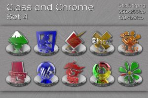glass and chrome set 4 by xylomon