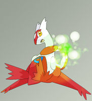 Latias use EnergyBall by xBlackDayana