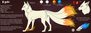 :CO: Kyubi Ref Sheet by The-Nutkase