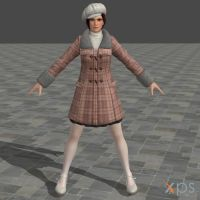 DOA5U Mila Casual costume by zareef