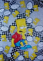 Bart Simpson.The most famous phrases.#2 by VictoriaSivtseva