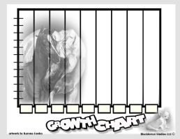 growth chart for NICU book by BfstudiosLLC