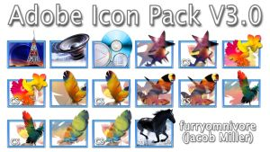 Adobe Icon Pack v3.0 by furryomnivore