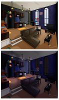 Darkly's Apartment by Musashden