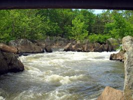 Great Falls of the Potomac 65 by Dracoart-Stock