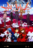Rebuild of Evangelion Poster by HellfromHeaven