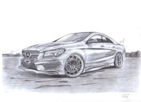 Mercedes-Benz Cla'F AMG by Faik05