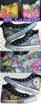 Pastries and Ice Cream Hi-Tops by marywinkler