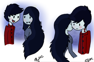 Marcy and Marshie by TimeForLols