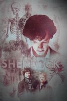 BBC SHERLOCK Fan Poster by fudgemallow