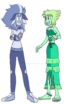 Blace and Emi by BillieJean485