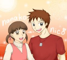 Special Request: Nanako and Nico by emilialight