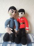 Two Ages [Amigurumi Spock] by AloiInTheSky