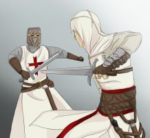 Assassin vs. Templar by Uccan