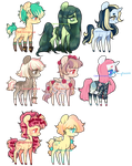 CLOSED - Set price pony adopts by Carnivvorous