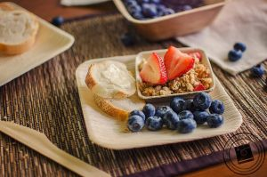 Fruit and Granola by mariesturges