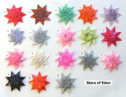 Stars of Eden, set 71-85 by Figuer
