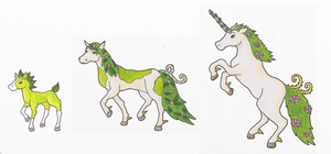 Leaf Horse Fakemon by bootlegend