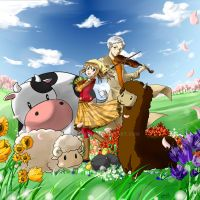 Harvest Moon Tale of Two Towns Art Contest Entry by Ferdverel