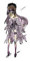 Sonatea Halloween Outfit color by The-Virgo-Fairy