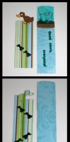 Duck and Futurama Bookmarks by GeneveveX
