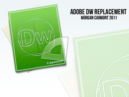 Dreamweaver Replacement Icon by morgcar