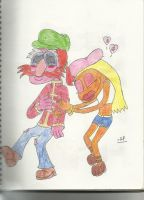 Muppet Hippie Love by Mr-R0bby-R0b