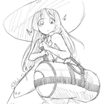 Lillie and Nebby by Luqueiral