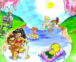 The Xiaolin Chronicles: Summer Vacation! by theblackchaos737