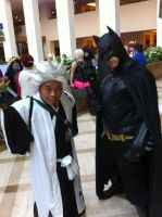 Me and Batman(Mechacon 2014) by Hound-02