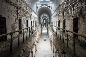 Eastern State Penitentiary (Hallway View) by Jonathan-Flash
