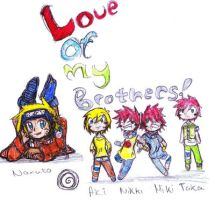 Love Of My Brothers by BlueRoseFox
