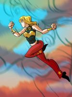 Wonder Girl by splendidriver